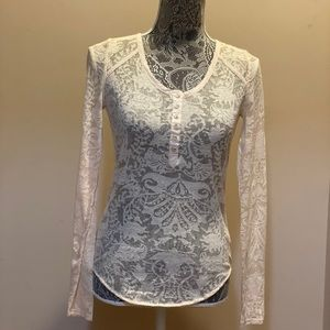 Free People | Intimately Long Sleeve Lace Top